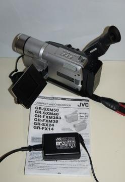 Klasyk kamera analogowa JVC GR-FXM38 VHS-C доставка товаров из Польши и Allegro на русском