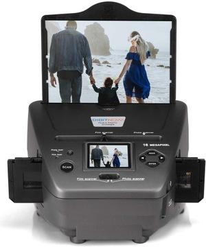 Пленочный сканер Фотонегативная пленка 4/1 LCD 2.4  доставка товаров из Польши и Allegro на русском