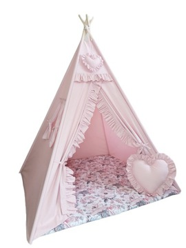 ТИПИ Палатка домик для детей ВИГВАМ 120x120 доставка товаров из Польши и Allegro на русском