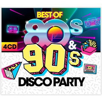 Best Of 80s & 90s Disco Party (4CD) доставка товаров из Польши и Allegro на русском