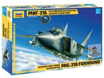 1:72 ZVEZDA 7244 Миг-31 Б Mikojan и Гуревич доставка товаров из Польши и Allegro на русском