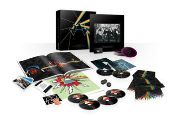 PINK FLOYD Dark Side Of The Moon 3CD+2DVD+BR Box доставка товаров из Польши и Allegro на русском