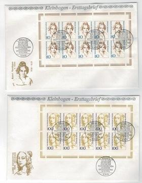 FDC Niemcy 1994 kobiety literatura polityka Arkusi доставка товаров из Польши и Allegro на русском