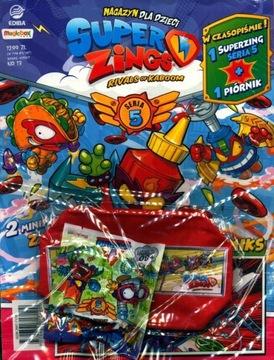 SUPER ZINGS! MAGAZYN nr 13 + zings i piórnik czerw доставка товаров из Польши и Allegro на русском