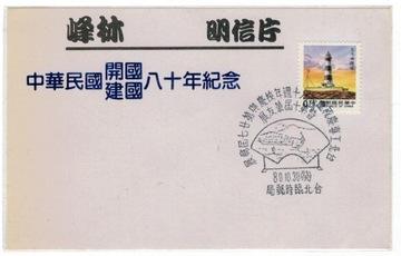 (Тайвань 1991 метки марку маяк) доставка товаров из Польши и Allegro на русском