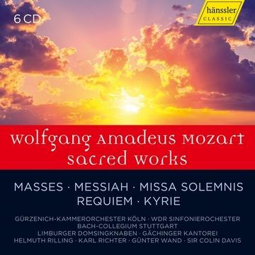 Mozart Sacred Works BOX 6cd HAENSSLER доставка товаров из Польши и Allegro на русском