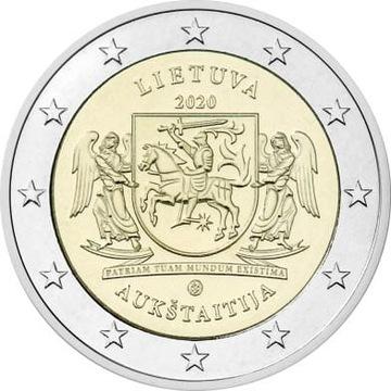 2 euro Litwa Auksztota 2020 доставка товаров из Польши и Allegro на русском