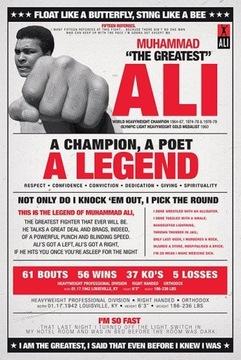 Мухаммад Али-Старинные - плакат 61x91,5 см доставка товаров из Польши и Allegro на русском