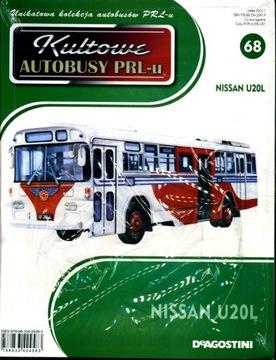 ИКОНИЧЕСКИЕ АВТОБУСЫ PRL PRL № 68 NISSAN U20L доставка товаров из Польши и Allegro на русском