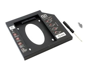 ОТСЕК ВТОРОЙ ЖЕСТКИЙ РАМКА 2,5 HDD SSD 9,5 мм для MACBOOK доставка товаров из Польши и Allegro на русском