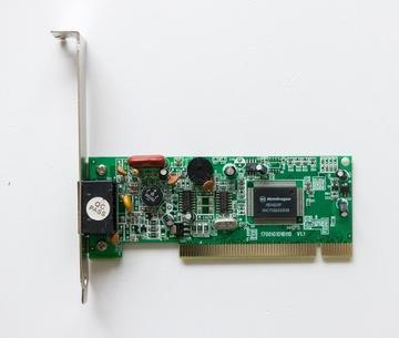 Модем-факс NetoDragon MDV92XP PCI  доставка товаров из Польши и Allegro на русском