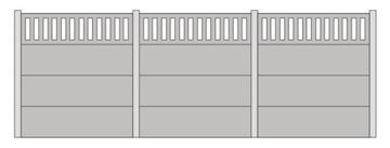 Забор бетонный тип А - 1:87 H0 доставка товаров из Польши и Allegro на русском