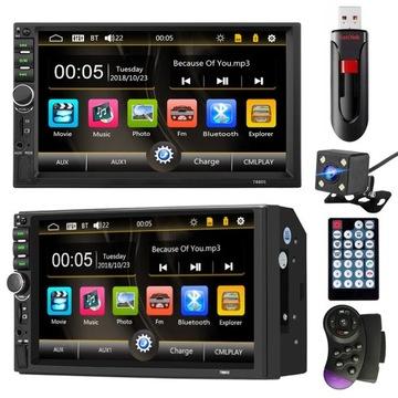 RADIO SAMOCHODOWE 2 DIN USB KAMERA + PENDRIVE 32GB доставка товаров из Польши и Allegro на русском