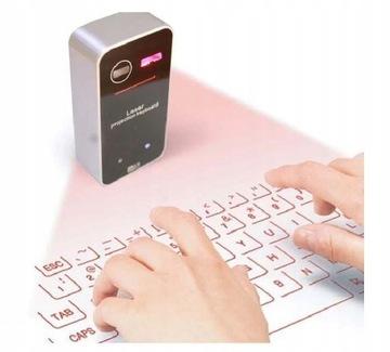 ПК лазерная клавиатура Bluetooth для Смартфона доставка товаров из Польши и Allegro на русском