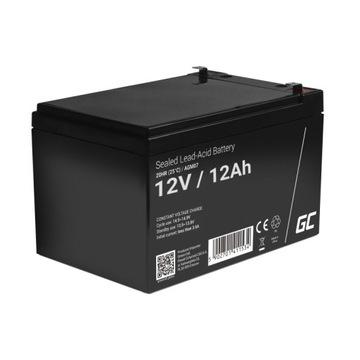 GREEN CELL Akumulator żelowy 12V 12Ah доставка товаров из Польши и Allegro на русском