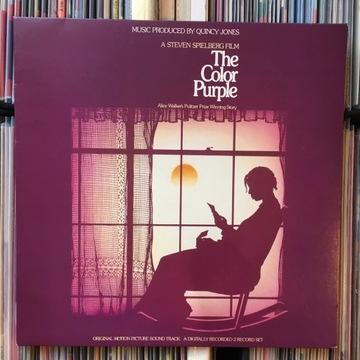 ost Quincy Jones The Color Purple 2xLP PROMO Japan доставка товаров из Польши и Allegro на русском
