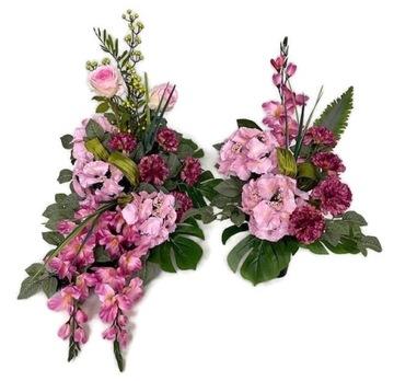 Головной убор на могилу/композиция/цветы доставка товаров из Польши и Allegro на русском