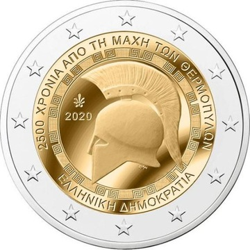 2 Euro 2020 - Grecja ( Termopile ) доставка товаров из Польши и Allegro на русском