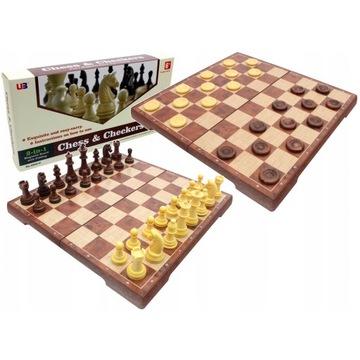 Большие Классические Шахматы Шашки Магнитные 2 в 1 доставка товаров из Польши и Allegro на русском