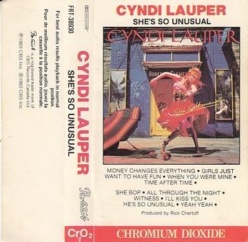 Cyndi Lauper She's So Unsual /MC доставка товаров из Польши и Allegro на русском