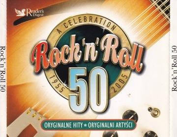 A Celebration Rock n Roll 50 (4 CD) доставка товаров из Польши и Allegro на русском