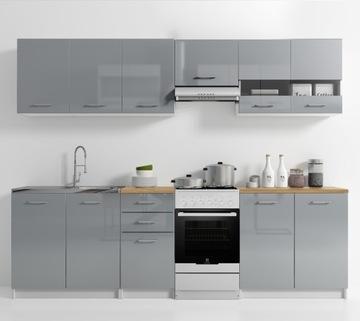 Кухонная мебель комплект со столешницей Кухня лак доставка товаров из Польши и Allegro на русском