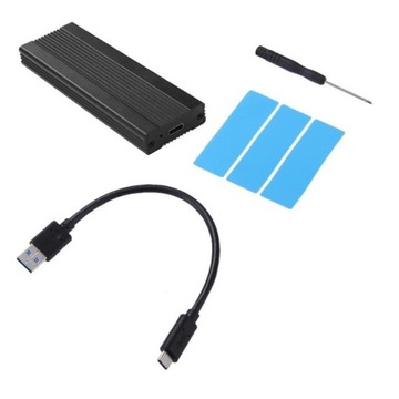 Корпус SSD m.2 NVMe PCIe USB 3.1 карман-адаптер доставка товаров из Польши и Allegro на русском