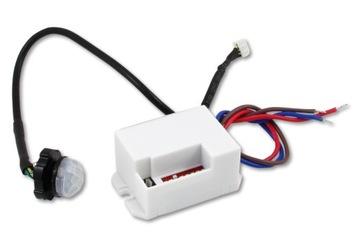 Датчик ДВИЖЕНИЯ в сумерках LED сенсор мини PIR датчик доставка товаров из Польши и Allegro на русском