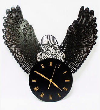 Большие часы y Angel Amor Glamour Retro Vintage Seraf  доставка товаров из Польши и Allegro на русском