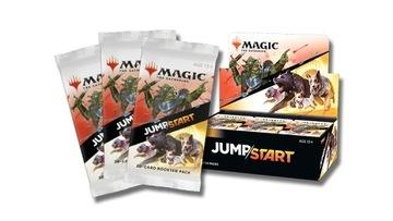 Booster Box JumpStart MTG 2021 24 ускорители Magic J доставка товаров из Польши и Allegro на русском