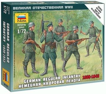 Niemiecka regularna piech 1939-43 1/72 Zvezda 6178 доставка товаров из Польши и Allegro на русском