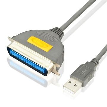 Кабель USB Centronics LPT IEEE12 Параллельный адаптер доставка товаров из Польши и Allegro на русском