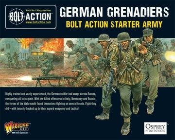 German Grenadiers Bolt Action Starter Army доставка товаров из Польши и Allegro на русском