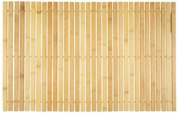 Mata bambusowa naturalna do sauny łazienki ECO