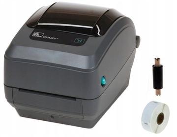 Принтер этикеток Zebra GK420T termotransferowa доставка товаров из Польши и Allegro на русском