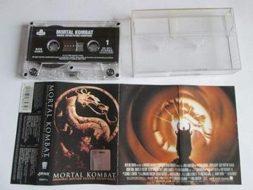Mortal Kombat-Soundtrack kaseta 1995 /Napalm Death доставка товаров из Польши и Allegro на русском