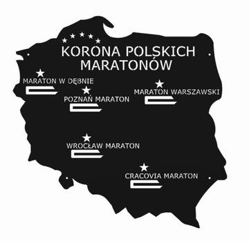 Вешалка на Медали норвежская польских марафонов держатель доставка товаров из Польши и Allegro на русском