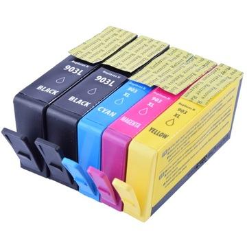 5 Чернила для HP 903 XL Officejet 6900 6950 6960 6970 доставка товаров из Польши и Allegro на русском