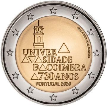 Portugalia 2 Euro Uniwersytet Coimbra 2020 доставка товаров из Польши и Allegro на русском