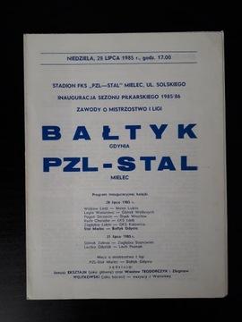 STAL MIELEC - BAŁTYK GDYNIA 1985r доставка товаров из Польши и Allegro на русском