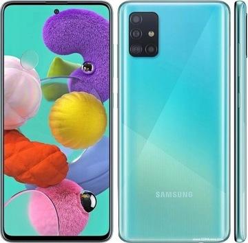Смартфон Samsung Galaxy A51 6/128GB синий доставка товаров из Польши и Allegro на русском