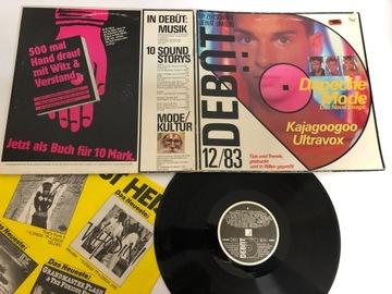 Depeche Mode Debüt 12/83 --- LP EX- D960 Буклет  доставка товаров из Польши и Allegro на русском