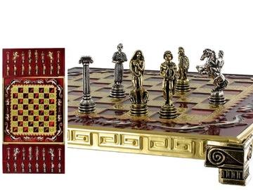 Шахматы - Trojan War Chess Set доставка товаров из Польши и Allegro на русском