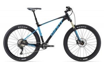 Rower Górski MTB GIANT FATHOM 1 czarno niebieski