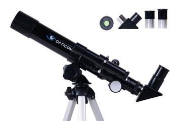 Teleskop OPTICON - Finder 40F400AZ + akcesoria доставка товаров из Польши и Allegro на русском