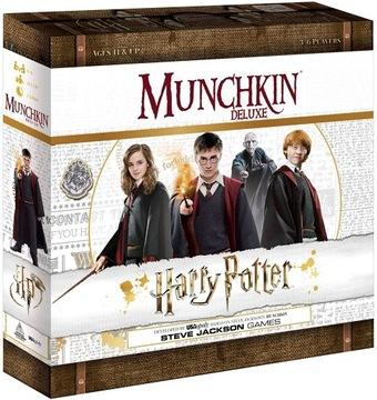 Munchkin: Harry Potter Deluxe доставка товаров из Польши и Allegro на русском