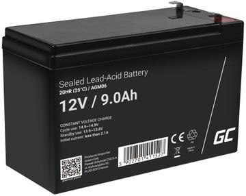 Гелевый аккумулятор не требует обслуживания UPS AGM 12V 9Ah доставка товаров из Польши и Allegro на русском