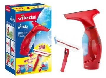 Vileda Тряпка для стекол, окон Windomatic доставка товаров из Польши и Allegro на русском