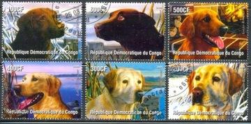 T.0967 Znaczki seria FAUNA Psy kynologia rasy psów доставка товаров из Польши и Allegro на русском