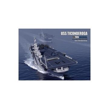 Angraf Model 2/2016 Авианосец USS Ticonderoga доставка товаров из Польши и Allegro на русском